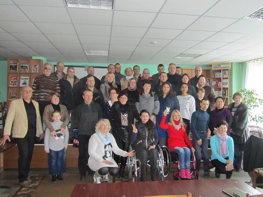 «Разом»: Участники боевых действий в Павлограде готовы помогать инвалидам-колясочникам