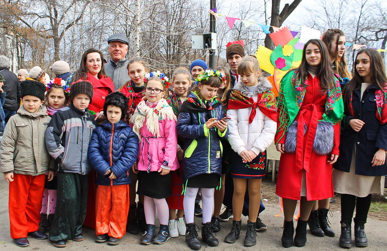 Павлоград відзначив народними гуляннями Масляну та річницю народження Великого Кобзаря