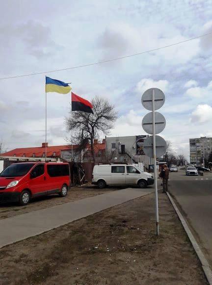 Це тільки початок для Павлограда: флаг УПА ніхто не посміє зняти