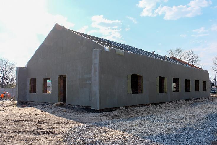 В Богдановке  строят дом для сирот-инвалидов
