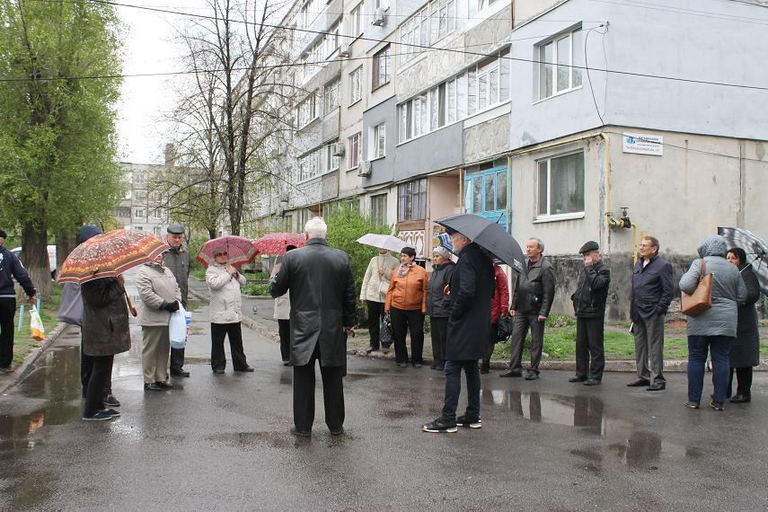Непогода не помеха: Народный депутат Артур Мартовицкий встретился с павлоградцами