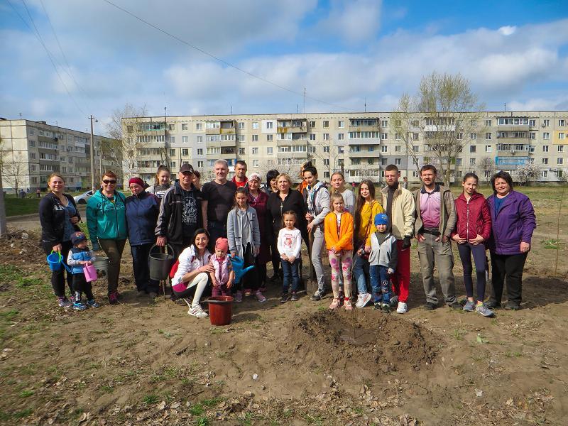 Западный Донбасс становится цветущим