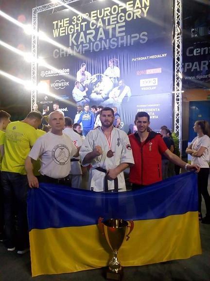 Тернівчанин Максим Кузяєв став бронзовим призером 33-го Чемпіонату Європи з Кіокушин карате