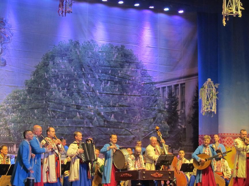 Национальная заслуженная Капелла бандуристов Украины им. Георгия Майбороды покорила  ценителей музыки Павлограда