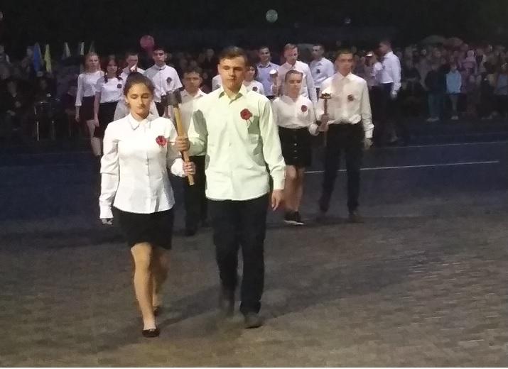 Павлоград достойно провел вечер-реквием, посвященный жертвам Второй мировой войны