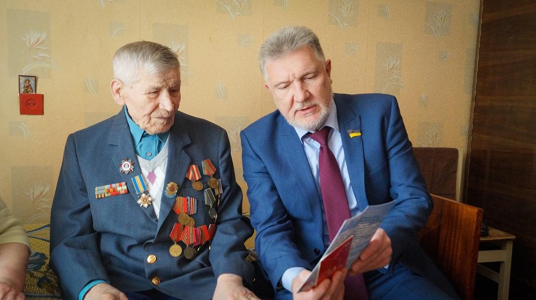 Артур Мартовицкий: «Каждая встреча с ветеранами для меня особенная»