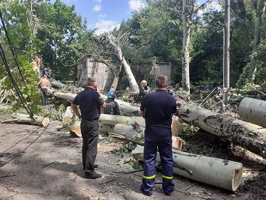 Кривой Рог, до сих пор, не может расхлебать последствия подлого урагана