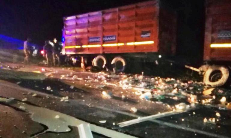 В результате ДТП под Межиричи погиб водитель КАМАЗА