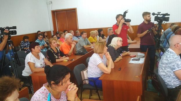 Совладельцам многоквартирных домов Павлограда вручили  многообещающую медаль