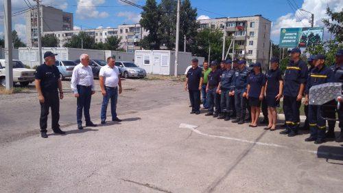 Спасателям Павлограда вручили новый автомобиль
