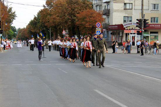 В Павлограді вшанували державний прапор України