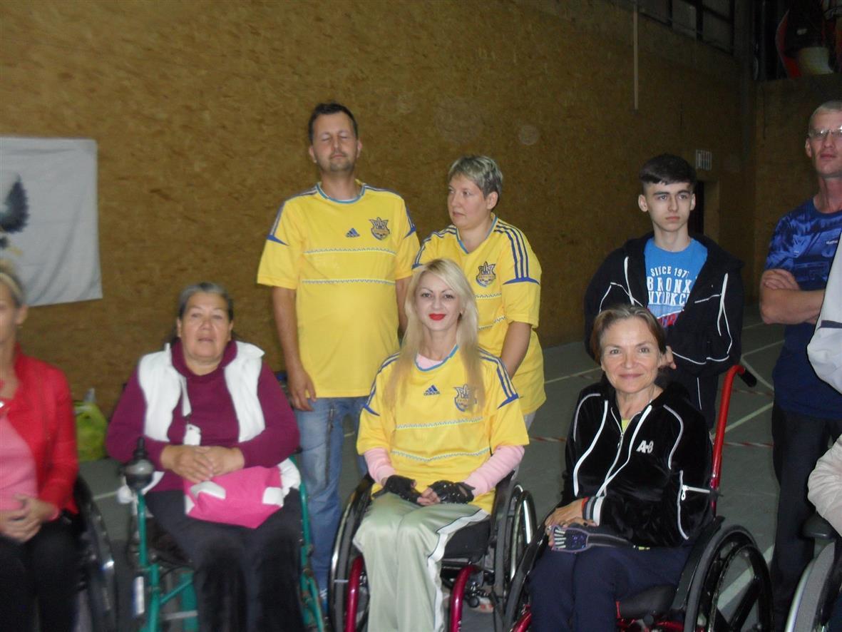 5 медалей завоевали спортсмены с инвалидностью из Павлограда на международных соревнованиях «Сильные духом»