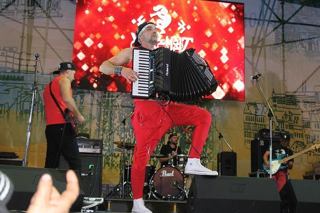 День рожденья Павлограда был наполнен сюрпризами: СолоХа, «Secret Service», Роман Каптелов