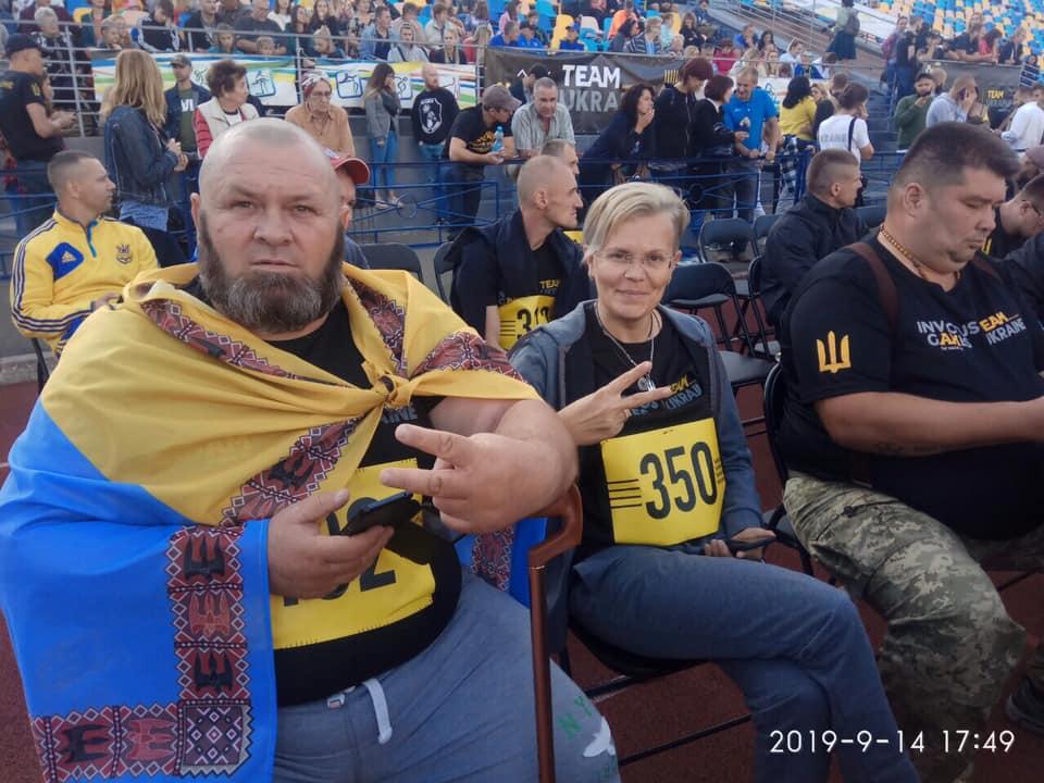 Павлоградка Людмила Калинина приняла участие в Играх Непокоренных