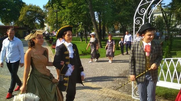 Павлоград, на свой День рождения, показал, что имеет дворянские корни