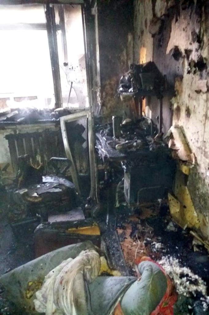 Сегодня в пожаре в Павлограде погиб 48-летний мужчина