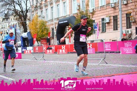 Победивший судьбу павлоградец Артур Недашковский принял участие  в юбилейном марафоне  - 2019