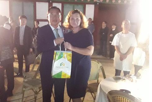 Павлоградские педагоги, в поисках передового опыта,  добрались   до Южной Кореи