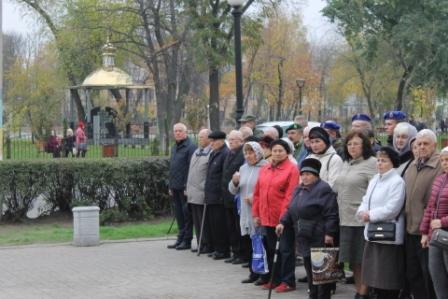 Павлоградцы почтили память погибших в годы Второй Мировой войны