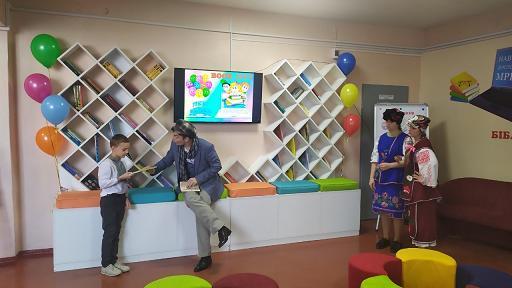 В Павлограде открылся «Книжный городок» и новый школьный класс