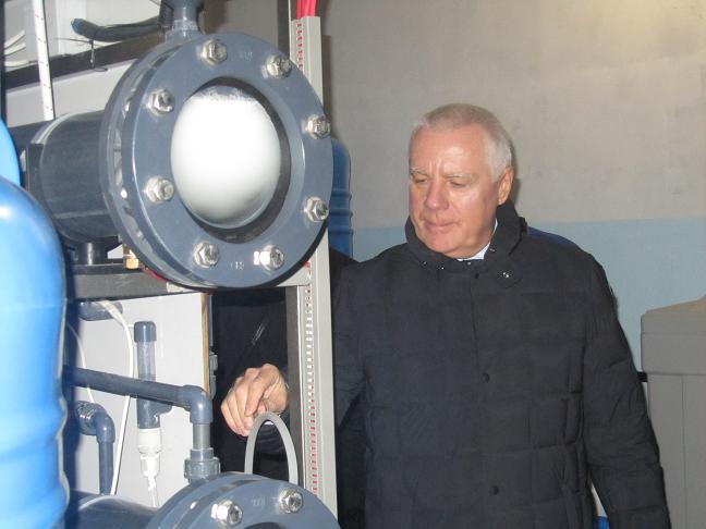 С середины января Павлоград  полностью откажется от хлорирования воды
