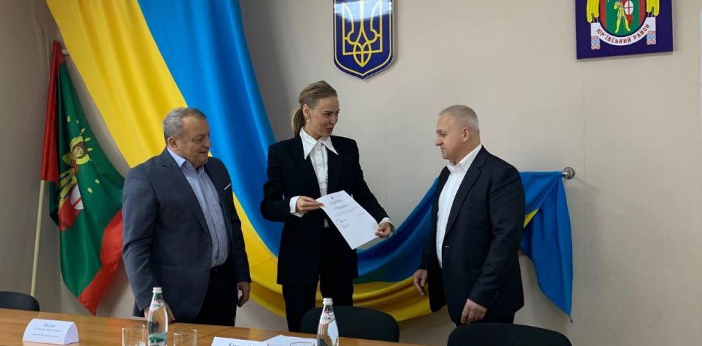 Сергей Рублевский и Юрий Борисенко официально приступили к исполнению своих обязанностей