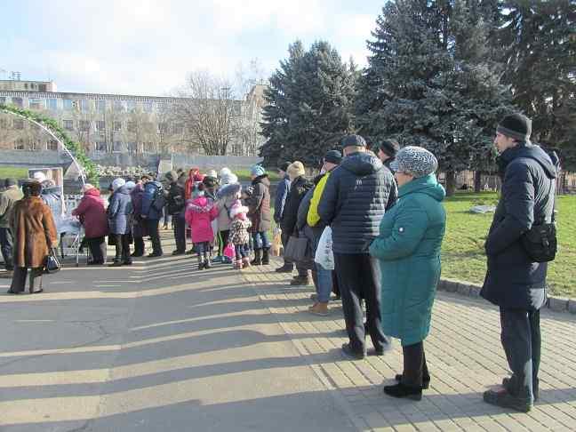 Павлоград с размахом встретил Рождество Христово