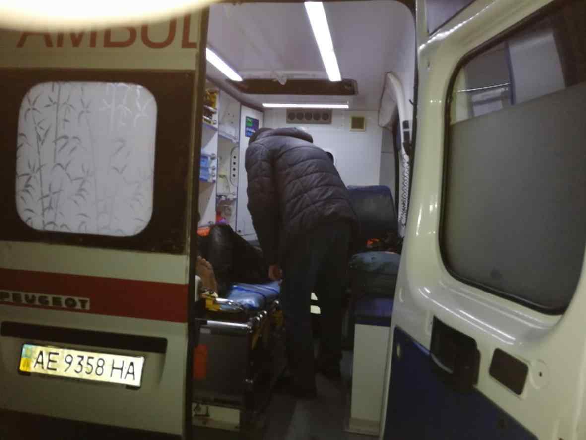 38-летний терновчанин с отравлением продуктами горения доставлен в больницу