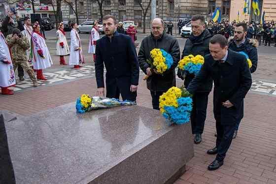 В Днiпрi відсвяткували День Соборності України