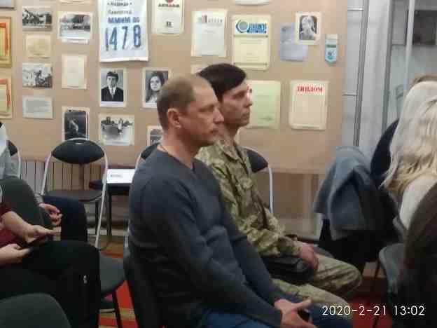 О Майдане и войне рассказали студентам ветераны АТО и волонтеры Павлограда