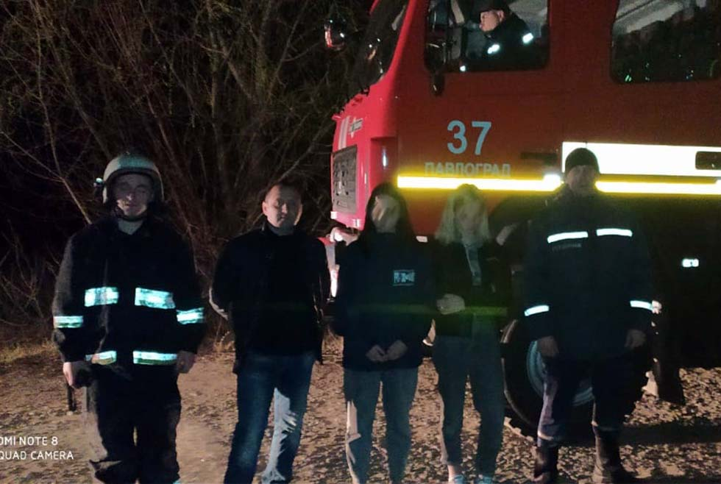 В Павлограде в лесу заблудились дети