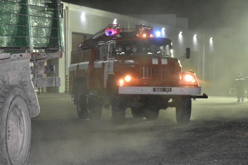 Павлоградские спасатели отправились на тушение пожара в Чернобыле