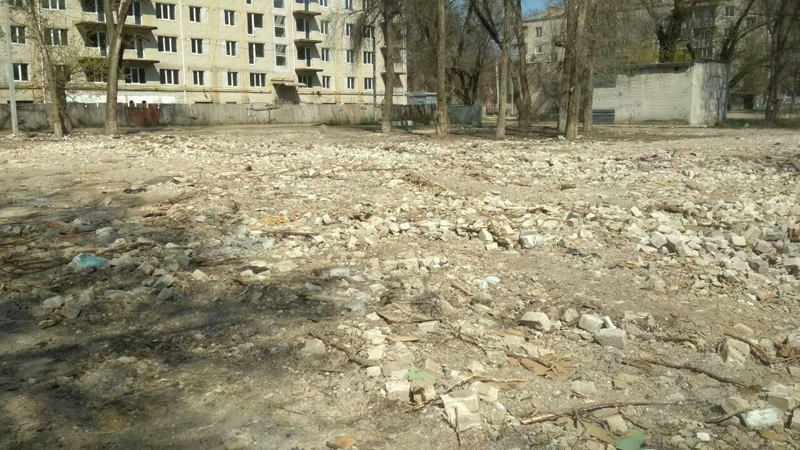В Павлограде бесследно исчезло 5-этажное общежитие, -  есть версия, что оно растворилось