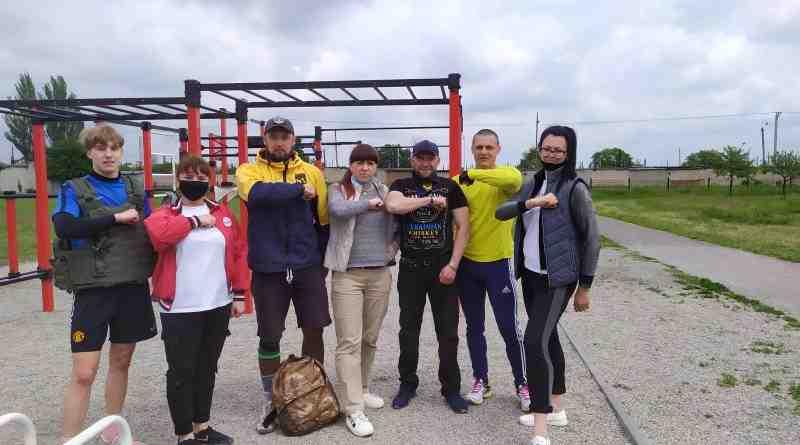 Впервые в Терновке в память о погибших бойцах прошел Кроссфит комплекс «Мерф»