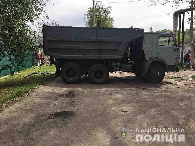 """Угонщик """"Камаза"""" сбил велосипедистку в Павлограде"""