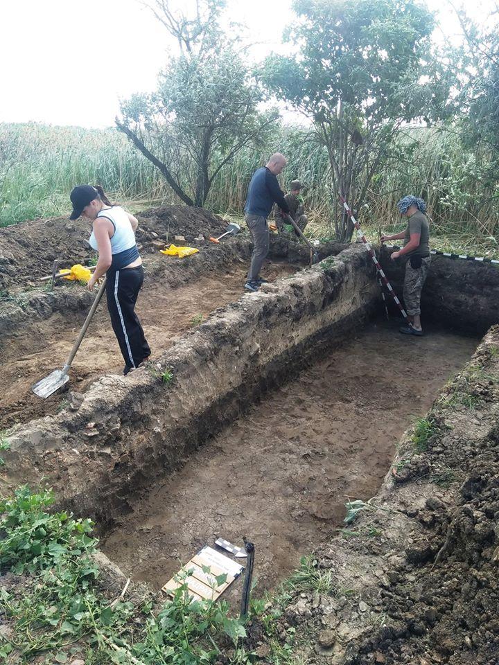 На берегах реки Самары  археологи  обнаружили остатки старинного  Екатеринослава
