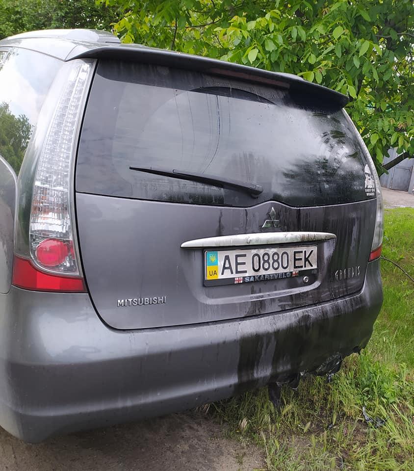 В Павлограде взорван автомобиль депутата городского совета