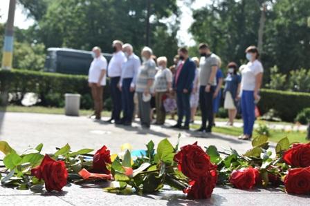 Павлоград склонил головы перед мужеством и непокоренностью украинцев