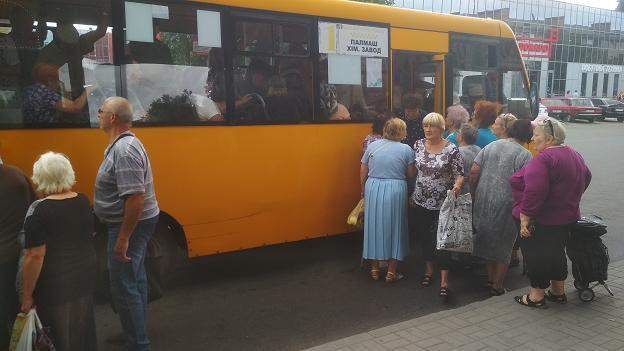 В Павлограде слишком много активных пенсионеров, - транспорт с таким количеством не справляется
