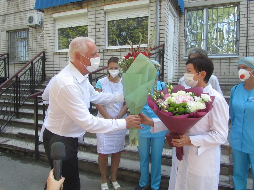 В Павлограде живет Заслуженный врач Украины