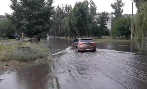 При обильных дождях, в Павлограде, можно открывать судоходство