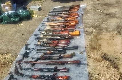 На Днепропетровщине обезврежена вооруженная до зубов банда разбойников