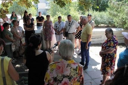 Памятный знак узникам и жертвам фашистских концлагерей с бульвара г. Павлограда переедет на кладбище