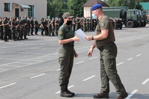 Гвардейцы  Павлограда отметили день рождения воинской части