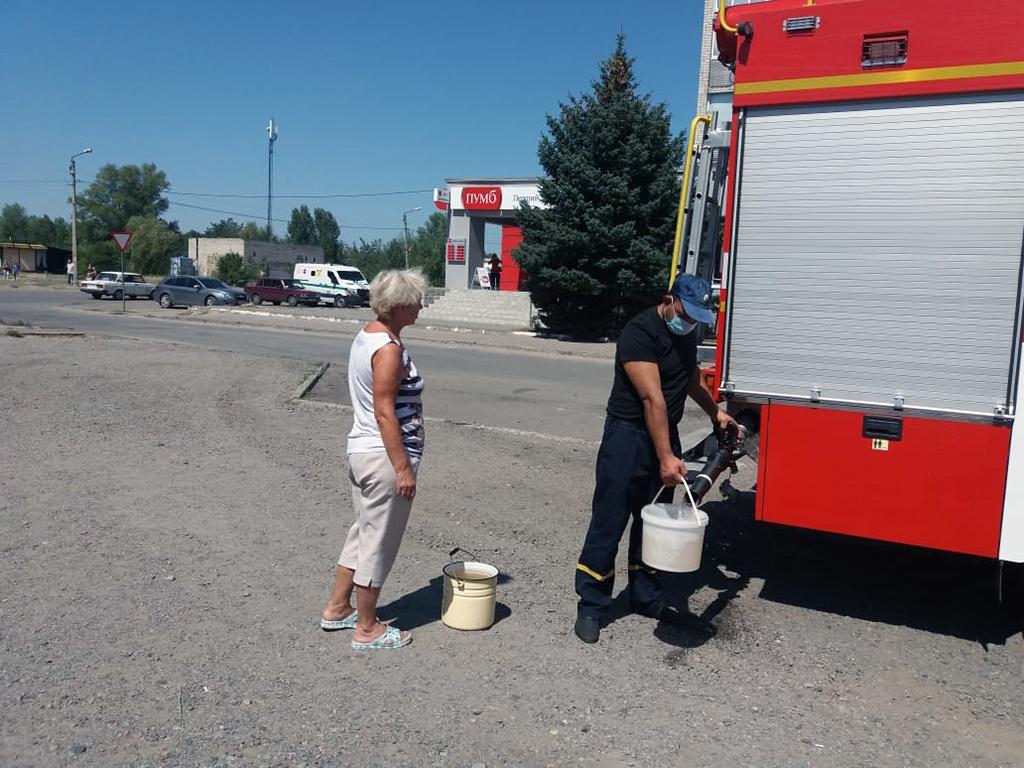 96 населенных пунктов остались без воды на Днепропетровщине