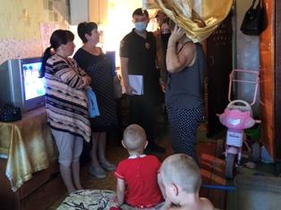 В Павлограде четыре семьи наказаны гривней