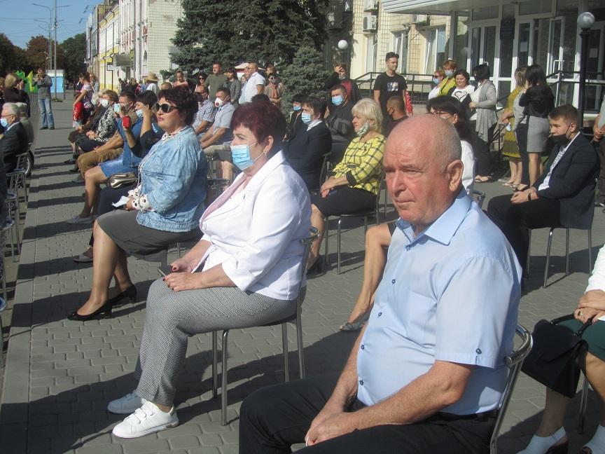Виртуозный барабанщик оркестра в/ч 3024 стал настоящей «изюминкой» в День рожденья Павлограда