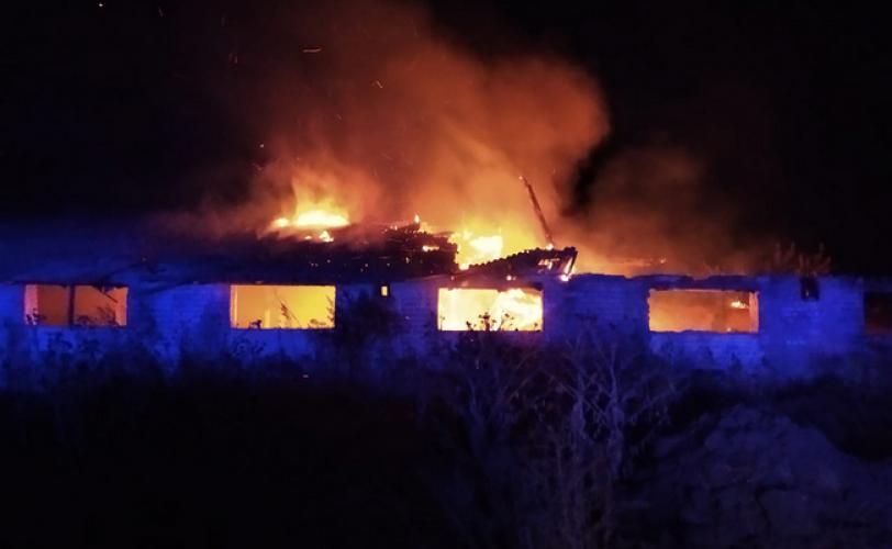 В Павлограде пожары сокращают количество заброшенных зданий