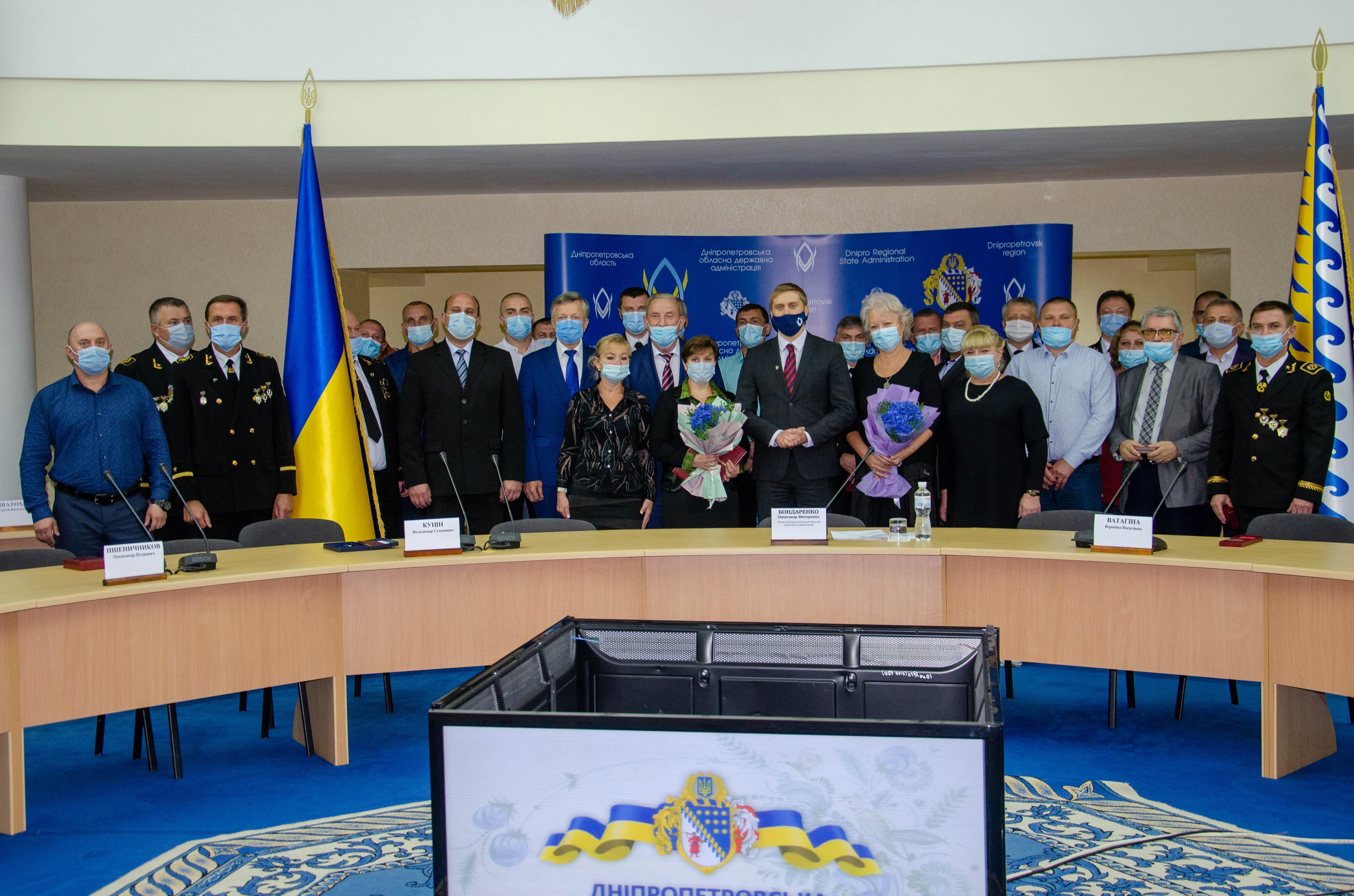 Шахтеры Западного Донбасса отмечены государственными наградами
