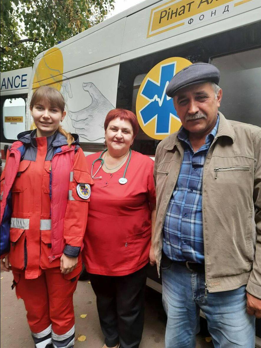 В Павлограде в больницу доставлена каретой скорой помощи с огнестрельным ранением 45-летняя женщина